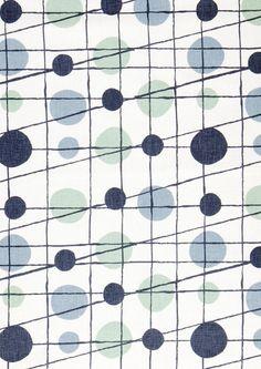 Image of Pavilion Linen Fabric - Chalkhill Blue