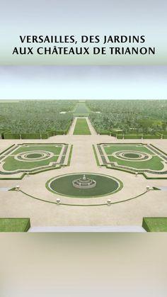 """Château de Versailles on Instagram: """"Les jardins d'André Le Nôtre, le Grand Trianon, le Petit Trianon, le domaine de Marie-Antoinette en 3D et en vidéo."""""""