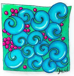Scroller Artwork by Ina Sonnenmoser