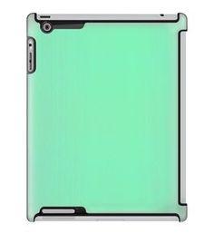 Uncommon LLC Deflector Hard Case for iPad 2/3/4, Green Mint Texture (C0060-TZ)