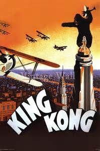 modern retro posters king kong - Bing images