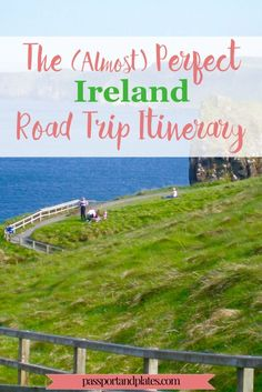 Although I'm a huge proponent of public transportation, Ireland is a country where a car is practically a necessity. Click to see out all the beautiful places to visit in the Perfect Ireland Road Trip itinerary! | passportandplates...