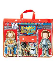 Love this Knights' Kingdom Wooden Magnetic Heroes on #zulily! #zulilyfinds