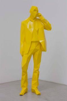 low poly sculpture - Recherche Google