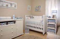 babyroom beige and blue