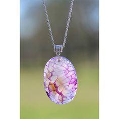 Purple Agate pendant, Jewelry, Multicolor Agate, Purple stone, Purple... ($38) ❤ liked on Polyvore featuring jewelry