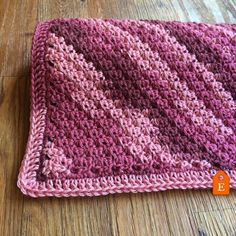 It's finally complete! Get the #blanket or the #pattern by clicking the link in my bio. Now onto my next #project . #newbabygift #newbaby #babyblanket #pink #ombre #etsyshop #crochet #crochetaddict #crocheting #crochetlove #crochetpattern #crochetersofinstagram #crochetlover #crochethat by prettyinpicot