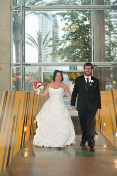 Weddings at The New Children's Museum San Diego. Blair Nicole Photography.