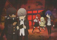 Fabric Poster - Persona Q - Labyrinth New Toys Licensed Multi Persona Crossover, Persona 3 Portable, Yu Narukami, Persona Q, Shin Megami Tensei Persona, Disney Cartoons, Kawaii Anime, Light In The Dark, Manga Anime