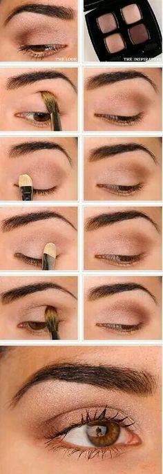 Chula tienda creativa https://www.facebook.com/ChulaTiendaCreativa Ojos naturales y clamorosos#natural #maquillaje #ojos