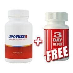 LIPOFUZE + 3 DAY DETOX - PERFECT COMBO TO START YOUR DIET/WEIGHT LOSS (Health and Beauty)  http://www.amazon.com/dp/B002DGFV5S/?tag=goandtalk-20  B002DGFV5S