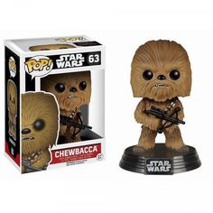 Star Wars: Episode VII - The Force Awakens Chewbacca Pop! A must have for any Star Wars Fan. The force awakens Chewbacca bobble head. Figurines D'action, Funko Pop Star Wars, Star Wars Toys, Pop Vinyl Figures, Star Wars Tattoo, Star Wars Chewbacca, Star Wars Episodio Vii, Live Action, Starwars