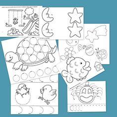 Referente Visual - Piezas claves para el desarrollo en motricidad fina del niño en la primera infancia .
