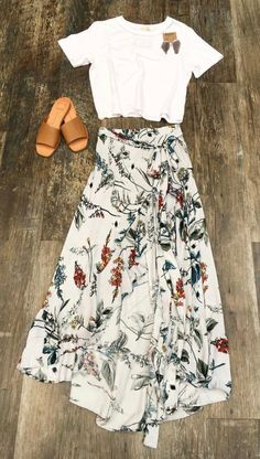 A wrap skirt would be a great find!
