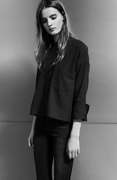STRÖM Brand's JAX Blouse – the perfect top for your favorite pair of jeans.