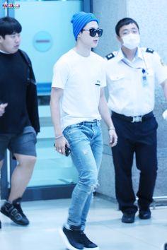 [AIRPORT] 150607: BTS Park Jimin at Incheon Airport #bangtanboys #bangtan #airport #fashion #style #kfashion #kstyle #korean