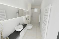 moden cool bathroom 25 Marvelous Black And White Bathroom Ideas
