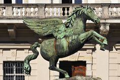 Pegasus Statue Fountain - The Sound of Music guide to Salzburg
