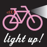 Be safe... use lights & helmet when #cycling at night.