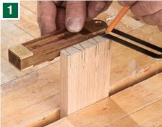 Hand Cutting Dovetails for Drawers with a Handsaw - How to