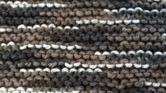 My last project is a tribute to garter stitch (. Christmas To Do List, Garter Stitch, Pearl Necklace, Pearls, Cool Stuff, Hot, Crafts, Jewelry, String Of Pearls