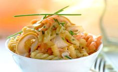 Creamy Pasta with Smoked Chicken & Chives recipe | Snacks and Sides recipes | Whats For Dinner