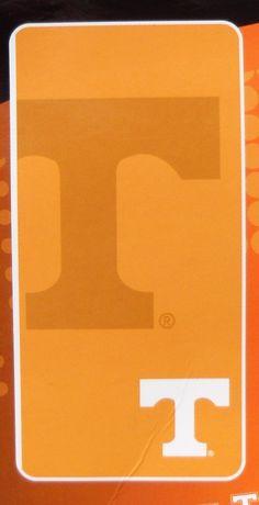 Tennessee Volunteers 30x60 Beach Towel 100% Cotton Bath Northwest University of