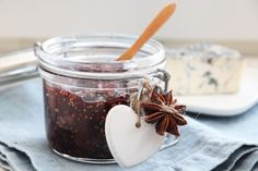 Fikenmarmelade med rødvin Food And Drink, Recipes, Marmalade, Food Recipes, Rezepte, Recipe, Cooking Recipes