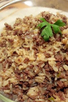 Seafood Recipes, Beef Recipes, Seafood Rice Recipe, Cooking Recipes, Cajun Dishes, Beef Dishes, Ground Beef And Potatoes, Ground Beef Rice, Quinoa
