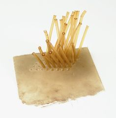 Eva Hesse Studiowork, 1968, courtesy of University of California, Berkeley Art Museum and Pacific Film Archive, gift of Helen Hesse Charash, 1979, Photograph by Abby Robinson, New York