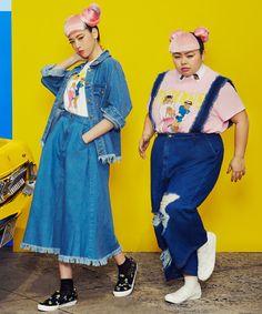【サマーセール】フリンジサスペンダー付きデニムパンツ | 渡辺直美がプロデュースするファッションブランドPUNYUS Online Store