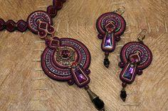 Soutache Necklace and Earrings | Flickr : partage de photos !