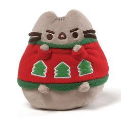 "Jan's Bear Essentials - Gund - Pusheen Holiday Sweater - 4.5"""