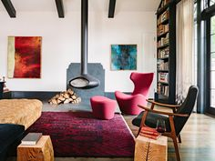 Designers of Jessica Helgerson Interior Design studio have introduced a project called Library House at Portland
