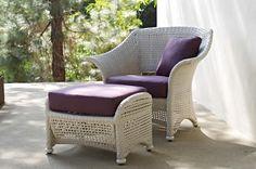 Seabrook Armchair & Ottoman   Gloster Furniture