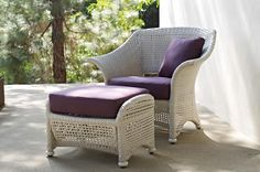 Seabrook Armchair & Ottoman | Gloster Furniture