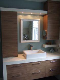 Bathroom half wall shower cabinets new Ideas Bathroom Layout, Bathroom Interior Design, Modern Bathroom, Bathroom Ideas, Bathroom Organization, Bathroom Designs, Bathroom Storage, Bad Inspiration, Bathroom Inspiration