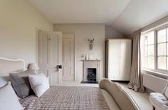 internal wood work barn conversion colours farrow and ball - Google Search