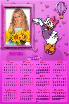 Recursos Photoshop Llanpac: Calendario del 2015 de Daisy para Photoshop (Psd y...