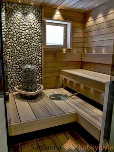 Diy Sauna, Sauna Infrarouge, Sauna Hammam, Sauna House, Sauna Ideas, Spa Design, House Design, Design Ideas, Modern Design