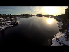 DJI Phantom RTF w. GoPro HERO3 - Onboard video
