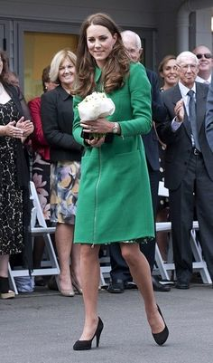 Kate Middleton- wool coat