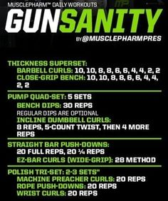 Workouts BodySpace FitBoard - Gunsanity