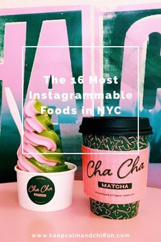 16 Most Instagrammable Foods in NYC!