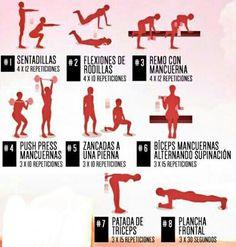 Correr es Mas Salud: Circuito para trabajar tu Cuerpo de manera completa