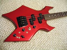 BC Rich Warlock bass with a Kahler bass tremolo!