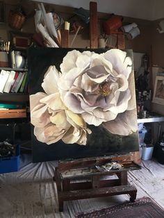 OPPIO 122x122 Diana Watson painting Oil Painting Flowers, Painting & Drawing, Watercolor Paintings, Outdoor Fotografie, Australian Artists, Painting Inspiration, Flower Art, Photo Art, Canvas Wall Art