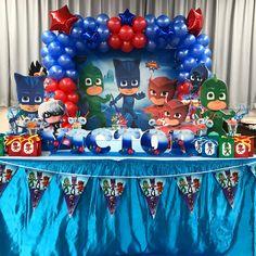 Герои в масках детский день рождения pjmasks pjmasks birthday party ideas