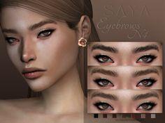 SayaSims' Eyebrows N4