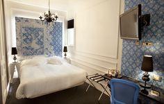 Cool hotels in Madrid. Posada del Dragón.